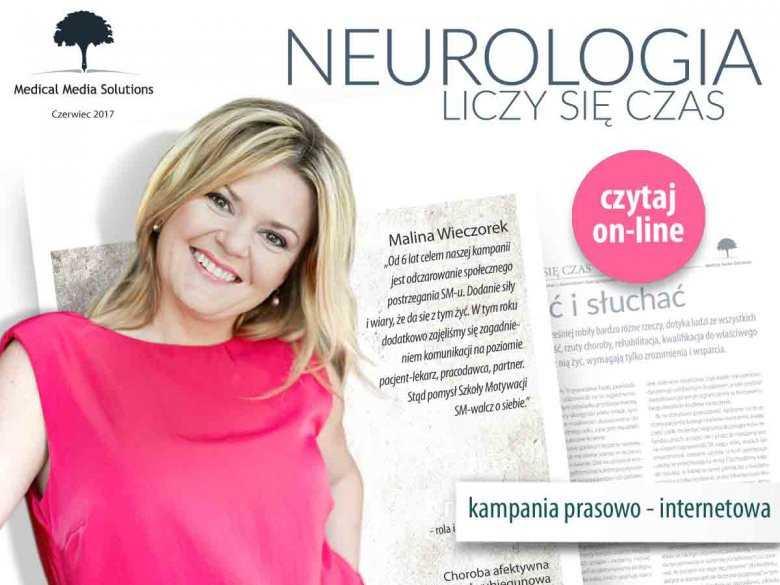 """ForumNeurologiczne.pl zostało partnerem medialnym projektu """"Neurologia liczy się czas"""""""